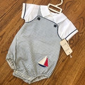 Vintage Bryan Infant Outfit
